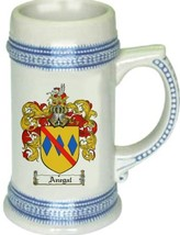 Anegal Coat of Arms Stein / Family Crest Tankard Mug - $21.99