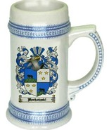 Borkowski Coat of Arms Stein / Family Crest Tankard Mug - $21.99