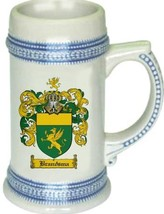 Brandsma Coat of Arms Stein / Family Crest Tankard Mug - $21.99