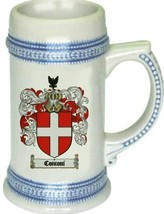 Conconi Coat of Arms Stein / Family Crest Tankard Mug - $21.99