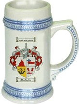 Maclaine Coat of Arms Stein / Family Crest Tankard Mug - $21.99