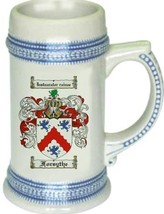 Forsythe Coat of Arms Stein / Family Crest Tankard Mug - $21.99