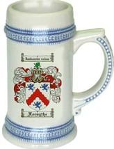 Forsythe Coat of Arms Stein / Family Crest Tankard Mug - $21.99