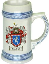 Hendleigh Coat of Arms Stein / Family Crest Tankard Mug - $21.99