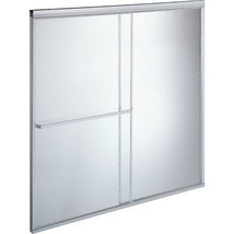 MAAX® By-Pass Shower Door Rain Textured Glass Deluxe 68H x 44-1/2 To 46-... - $298.88