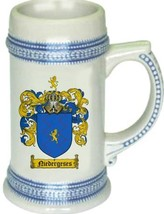 Niedergeses Coat of Arms Stein / Family Crest Tankard Mug - $21.99