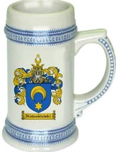 Nowosielski Coat of Arms Stein / Family Crest Tankard Mug - $21.99