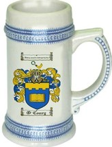 O'Conry Coat of Arms Stein / Family Crest Tankard Mug - $21.99
