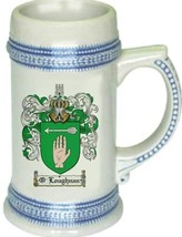 O'Loughnan Coat of Arms Stein / Family Crest Tankard Mug - $21.99