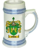O'Rielly Coat of Arms Stein / Family Crest Tankard Mug - $21.99