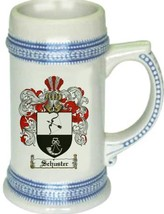 Schuster Coat of Arms Stein / Family Crest Tankard Mug - $21.99
