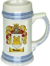Tuxpan Coat of Arms Stein / Family Crest Tankard Mug - $21.99