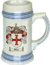 Veele Coat of Arms Stein / Family Crest Tankard Mug - $21.99
