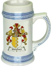 Meinhart Coat of Arms Stein / Family Crest Tankard Mug - $21.99