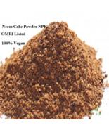 Commercial Crop Neem Cake Powder 6-1-2 Fertilizer ORMI Listed 50 lbs Org... - $126.42