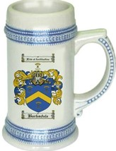 Barksdale Coat of Arms Stein / Family Crest Tankard Mug - $21.99
