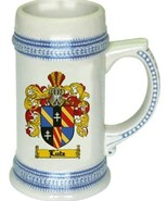 Lutz Coat of Arms Stein / Family Crest Tankard Mug - $21.99