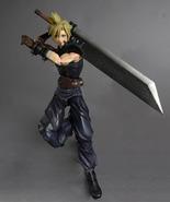 Final Fantasy Dissidia: Cloud Strife Play Arts Kai Action Figure Brand NEW! - $124.99