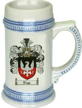 Eage Coat of Arms Stein / Family Crest Tankard Mug - $21.99