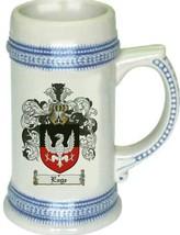 Eage Coat of Arms Stein / Family Crest Tankard Mug - $21.99