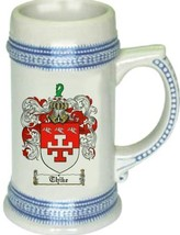 Thike Coat of Arms Stein / Family Crest Tankard Mug - $21.99