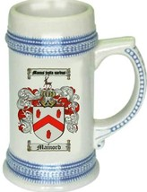 Mainord Coat of Arms Stein / Family Crest Tankard Mug - $21.99
