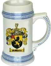 Mcwhorter Coat of Arms Stein / Family Crest Tankard Mug - $21.99