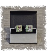 Personalised Dog Photo Gift  cufflinks present  Any occasion Christmas b... - $30.68