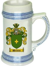 Wriston Coat of Arms Stein / Family Crest Tankard Mug - $21.99