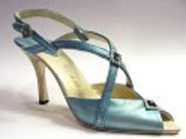 Poise Delicate Turquoise Strappy Sandal with Center Stones Just the Righ... - $24.99