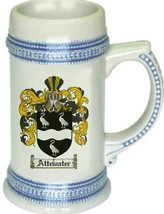 Attewater Coat of Arms Stein / Family Crest Tankard Mug - $21.99