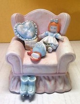 San Francisco Music Box Company Doll In Chair 1990 Thank Heaven for Litt... - $19.99