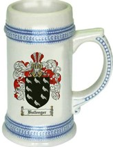 Bullenger Coat of Arms Stein / Family Crest Tankard Mug - $21.99
