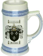 Forristal Coat of Arms Stein / Family Crest Tankard Mug - $21.99