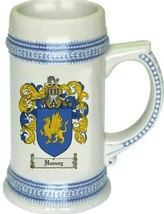 Hanvey Coat of Arms Stein / Family Crest Tankard Mug - $21.99
