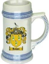 Looper Coat of Arms Stein / Family Crest Tankard Mug - $21.99