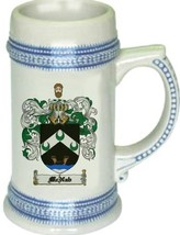Mcnab Coat of Arms Stein / Family Crest Tankard Mug - $21.99