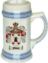 Olsons Coat of Arms Stein / Family Crest Tankard Mug - $21.99