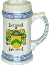 Pincartoun Coat of Arms Stein / Family Crest Tankard Mug - $21.99