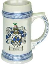 Pirtone Coat of Arms Stein / Family Crest Tankard Mug - $21.99