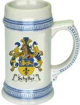 Scheller Coat of Arms Stein / Family Crest Tankard Mug - $21.99