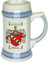 Steanson Coat of Arms Stein / Family Crest Tankard Mug - $21.99