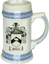 Balford Coat of Arms Stein / Family Crest Tankard Mug - $21.99