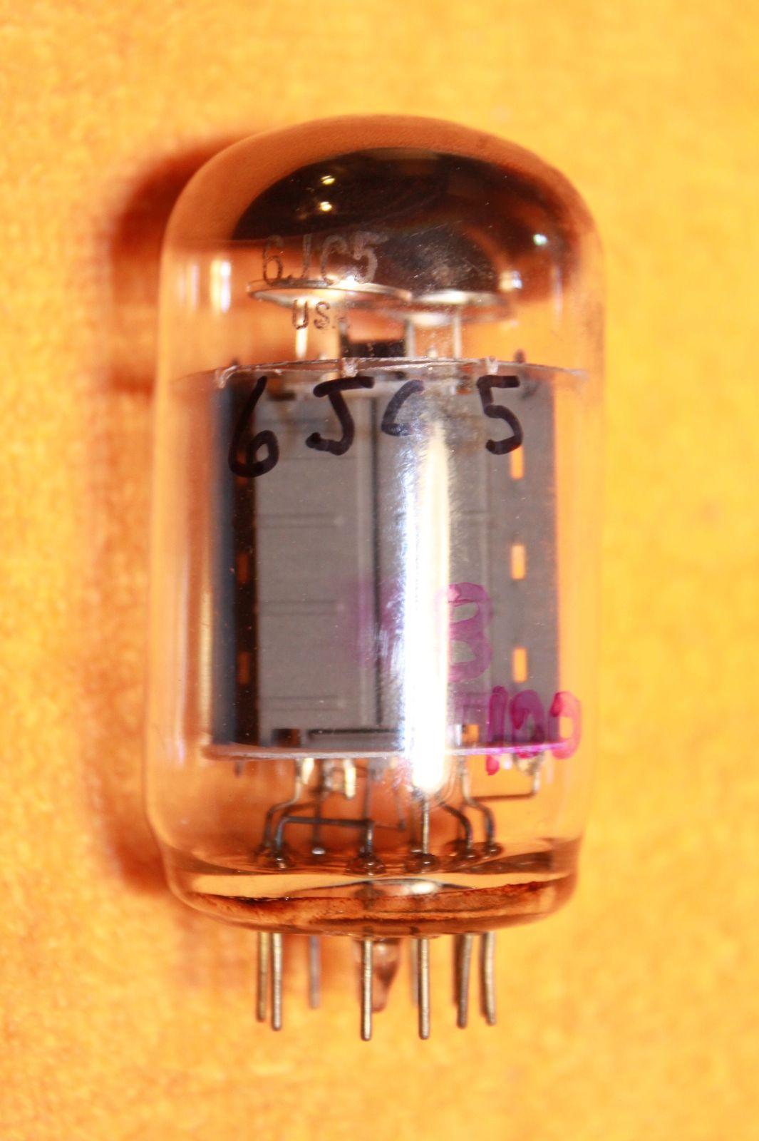 Vintage Radio Vacuum Tube (one): 6JC5 - Tested Good