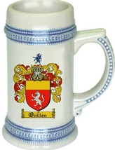 Quillen Coat of Arms Stein / Family Crest Tankard Mug - $21.99