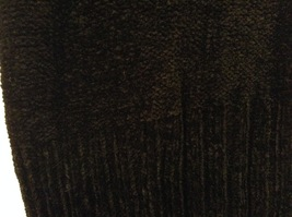 Banana Republic Black 100% Rayon Velvety Feel V-Neck T-shirt Blouse Top, size M image 5