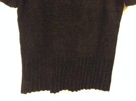 Banana Republic Black 100% Rayon Velvety Feel V-Neck T-shirt Blouse Top, size M image 7