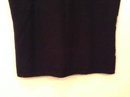 IZOD Ladies Stretch Diamond Pattern on Front V-neck T-shirt Top, size S image 6