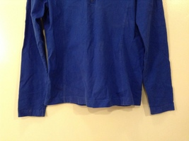 GAP Ladies Faded Royal Blue Sport Stretch Cotton Front Zipper Top, size M image 5