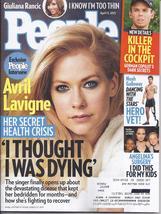 Avril Lavigne, Giuliana Rancic, Noah Galloway @ People Magazine Apr 2015  - $5.95